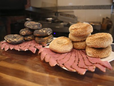 bagels smoked meat